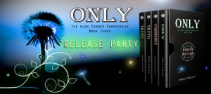Parker ONLY release party banner