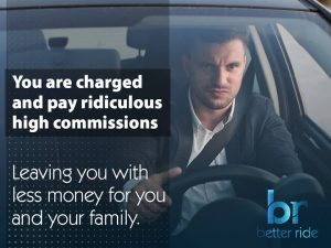 You are charged and pay ridiculous high commissions leaving you with less money for your and your family
