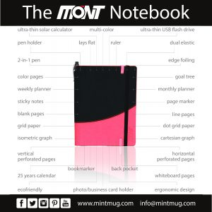Feature Chart - The Mont Notebook