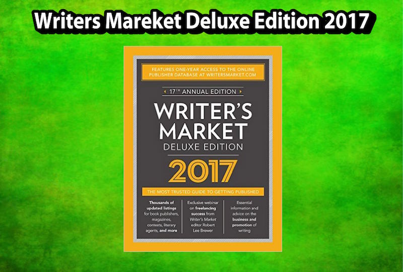 Writer's Market 2016: The Most Trusted Guide to Getting Published-ExLibrary